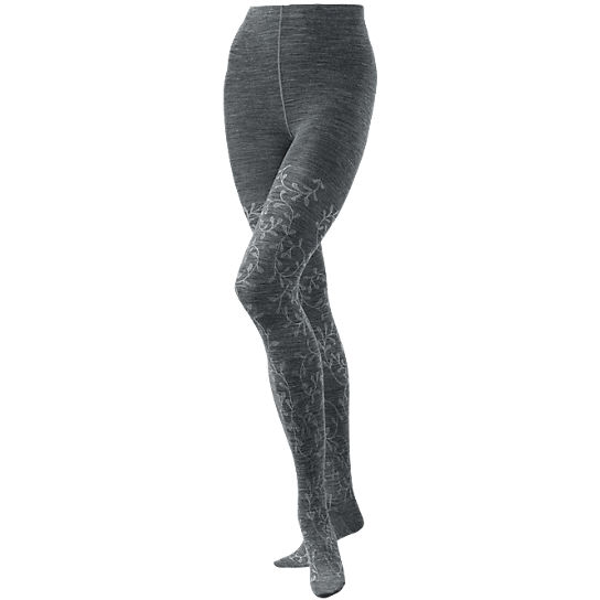 Women's Floral Scrolls Tights