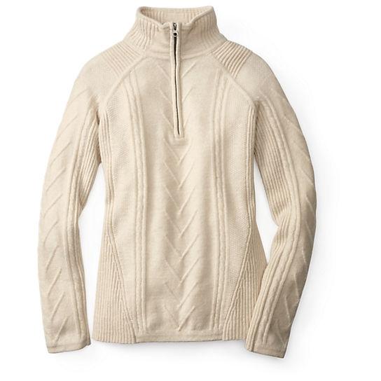 Smartwoolu00ae Womenu0026#39;s Marquette Half Zip Sweater