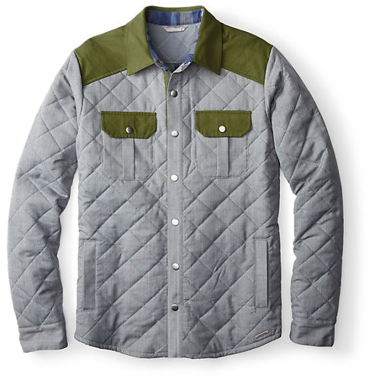 Men's Summit County Quilted Shirt Jacket