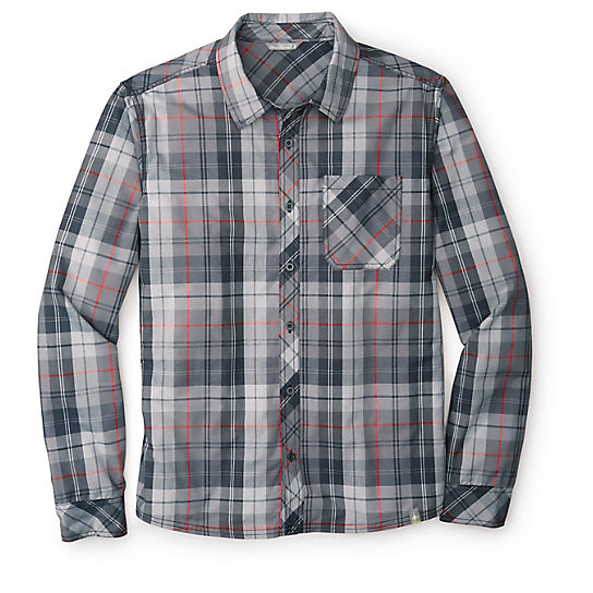 Men's Summit County Plaid Long Sleeve Shirt