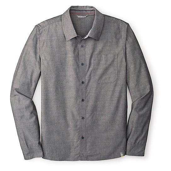 Men's Summit County Chambray Long Sleeve Shirt