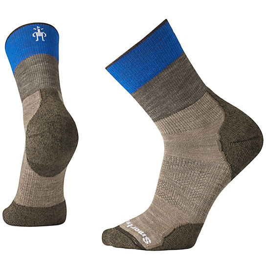 Men's PhD® Outdoor Light Pattern Mid Crew Socks