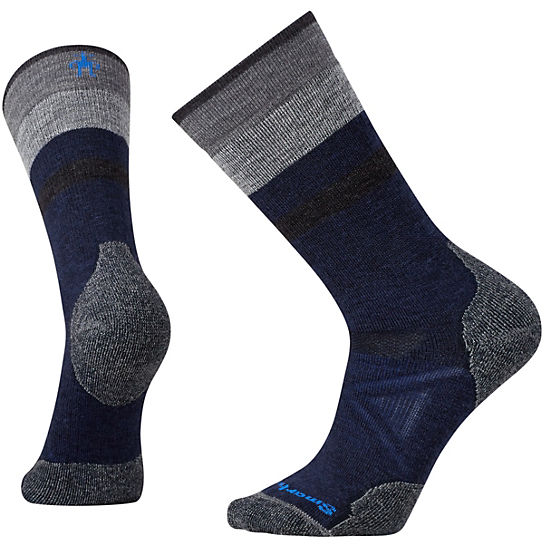 Men's PhD® Outdoor Medium Pattern Crew Socks