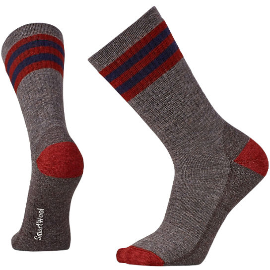 Men's Striped Hike Medium Crew Socks