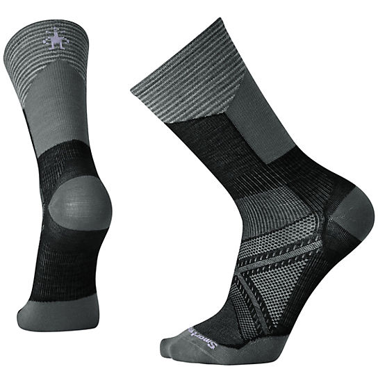 Men's PhD® Cycle Ultra Light Pattern Crew Socks