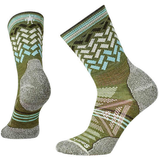 Women's PhD® Outdoor Light Pattern Mid Crew Socks