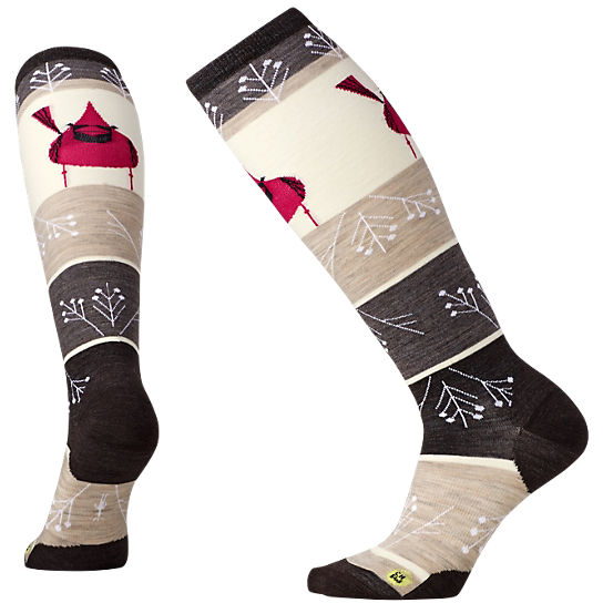 Women's Charley Harper Cardinal Knee High Socks
