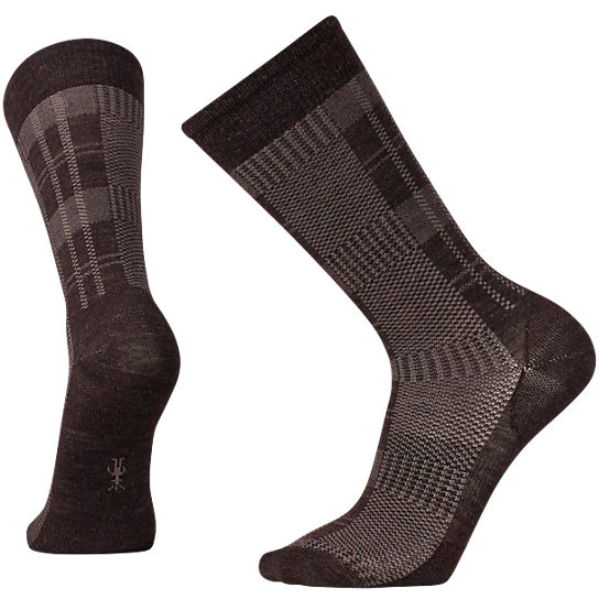 Men's Glen Plaid Crew Socks