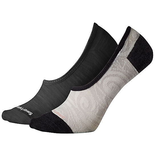Women's Hide and Seek 2pk No Show Socks