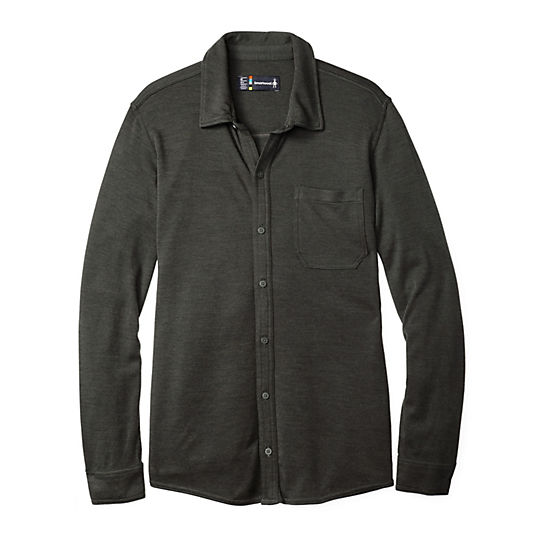 Merino Wool Shirt Mens