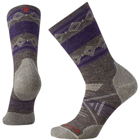 Women's PhD® Outdoor Medium Pattern Crew Socks