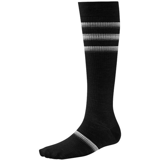 Women's Standup Graduated Compression Stripe Socks