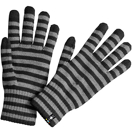 Striped Liner Gloves