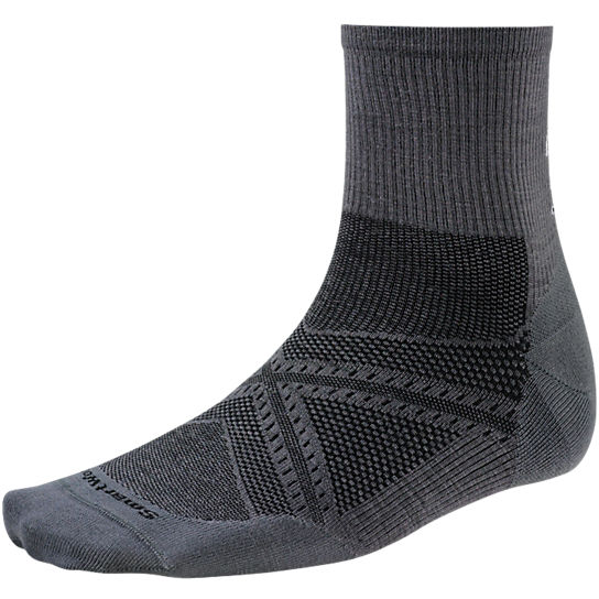 Men's PhD® Run Ultra Light Mid Crew Socks