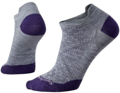 SmartWool Women's PhD® Run Ultra Light Micro Socks - Light Gray SW:0SW188:039:S::1:
