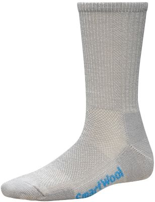 SmartWool Women's Hike Ultra Light Crew Socks - Light Gray SW:0SW453:039:L::1: