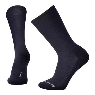 SmartWool Men's New Classic Rib Socks - Deep Navy Heather SW:0SW915:108:M::1:
