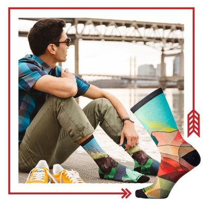 Smartwool print sock