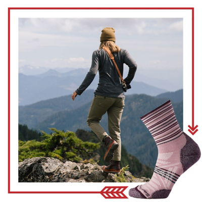 Smartwool sock hiking