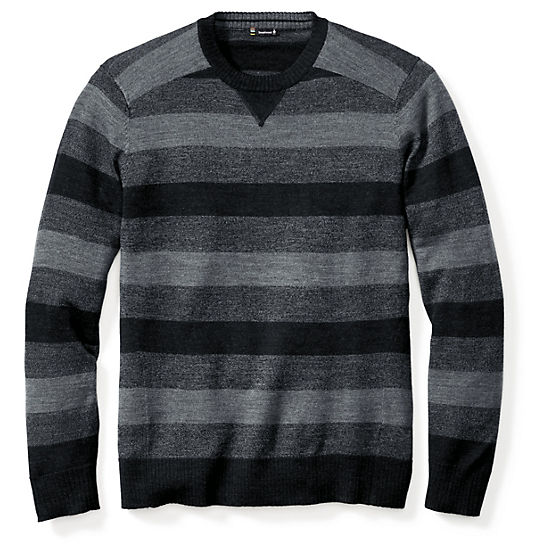 Men's Kiva Ridge Stripe Crew Sweater