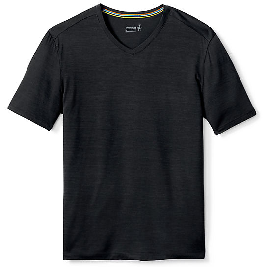 Men's Merino 150 Micro Stripe  V-Neck