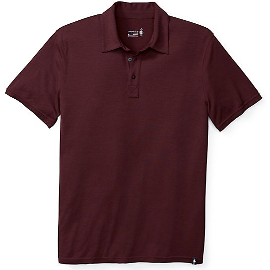 Men's Merino 150 Micro Stripe Polo