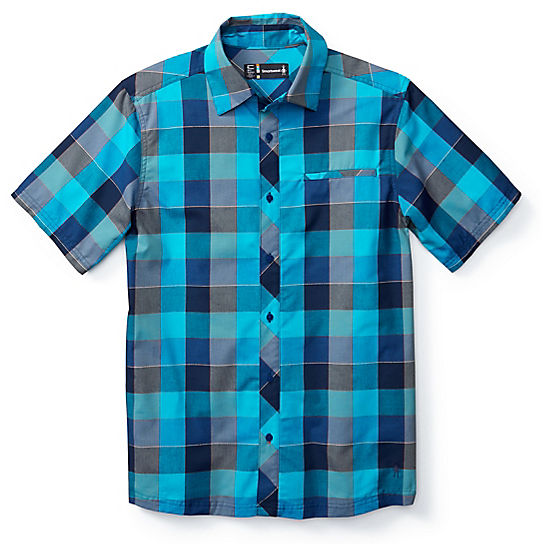 Men's Everyday Exploration Retro Plaid Short Sleeve Shirt
