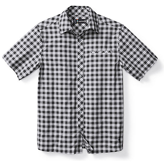 Men's Everyday Exploration Gingham Short Sleeve Shirt