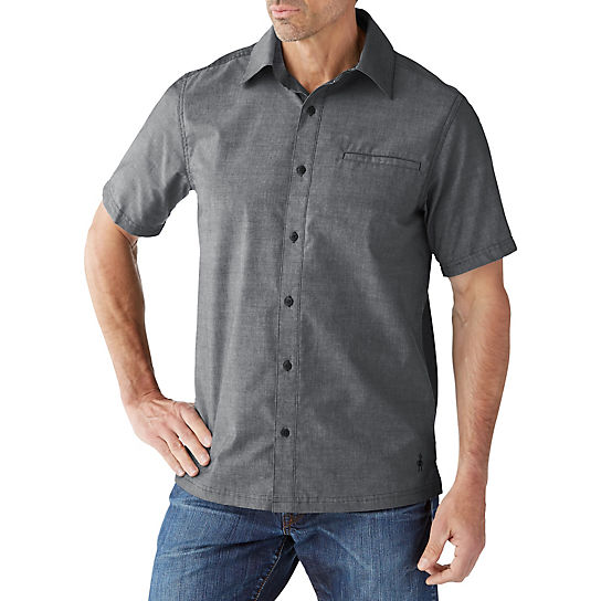 Men's Everyday Exploration Chambray Short Sleeve Shirt