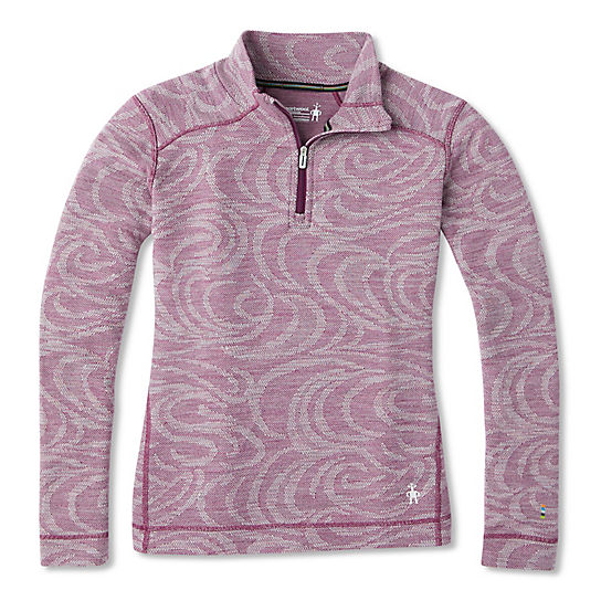 Women's Merino 250 Base Layer Pattern 1/4 Zip - Plus