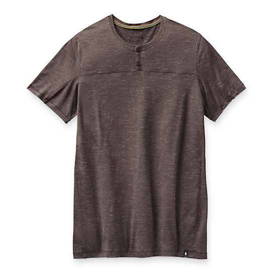 Men's Everyday Travel Short Sleeve Henley Shirt