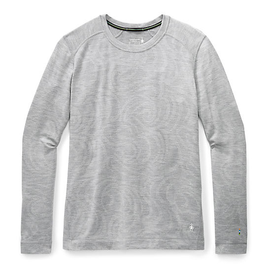 Women's Merino 250 Base Layer Pattern Crew-Plus