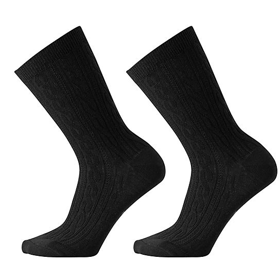 Women's Cable II Crew Socks 2 Pack