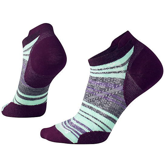 Women's PhD® Run Ultra Light Striped Micro Socks