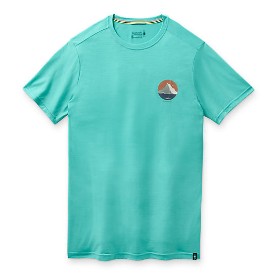 Men's Merino Sport 150 Two Peaks Graphic Tee