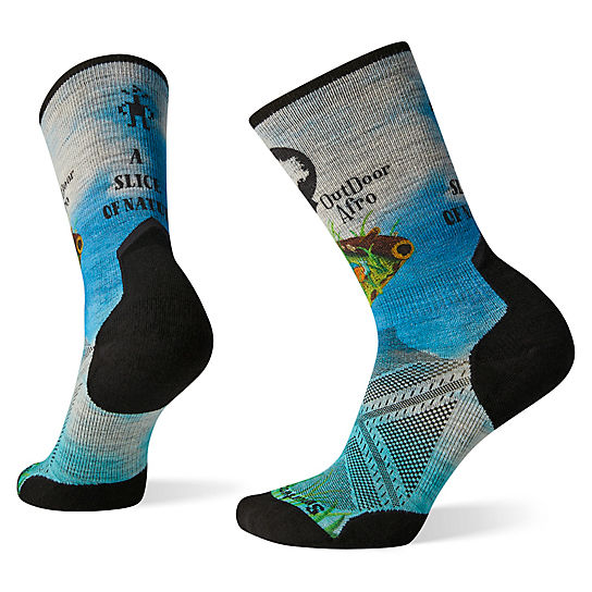 Smartwool x Outdoor Afro Hike Print Crew Socks