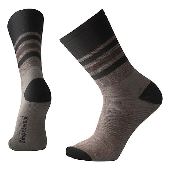 744d31310 Men's Striped Hike Medium Crew Socks