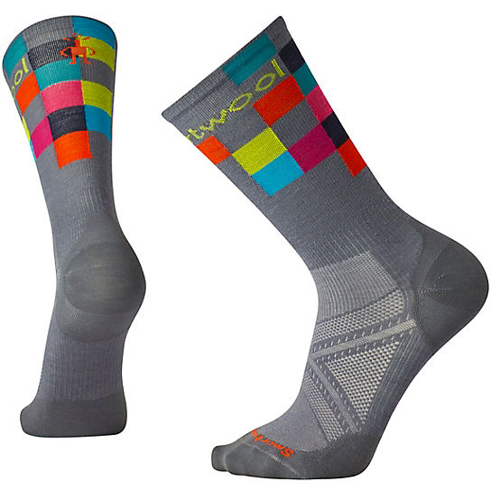 Men's PhD® Run Ultra Light Logo Crew Socks