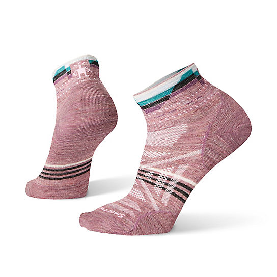 Women's PhD® Outdoor Ultra Light Pattern Mini Hiking Socks