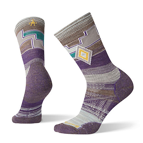 Women's PhD® Outdoor Light Pattern Hiking Crew Socks