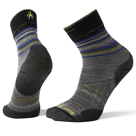 Men's PhD® Outdoor Light Pattern Mid Crew Hiking Socks
