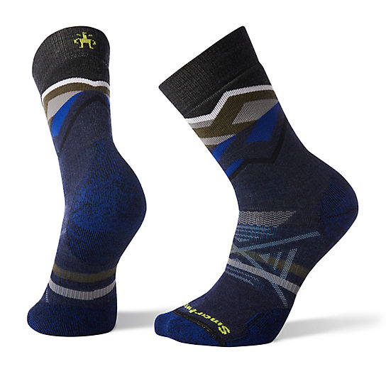 Men's PhD® Outdoor Medium Pattern Hiking Crew Socks