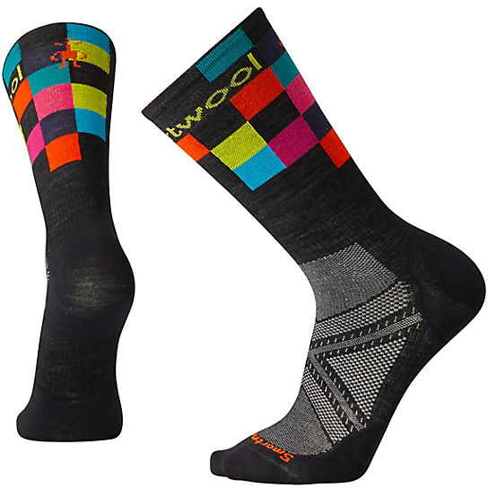 Men's PhD® Cycle Ultra Light Logo Crew Socks