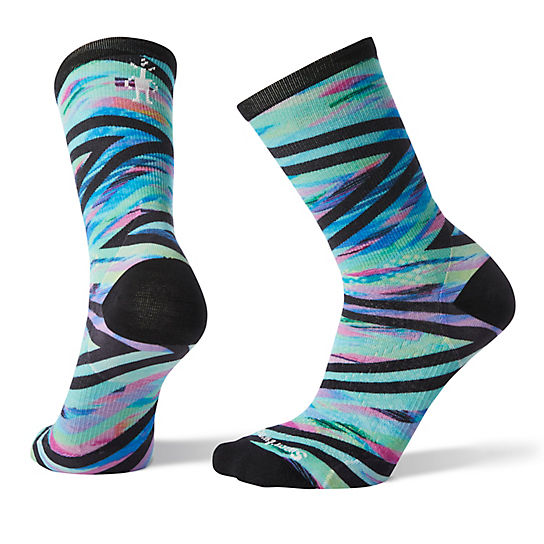 Women's PhD® Run Ultra Light Print Crew Socks