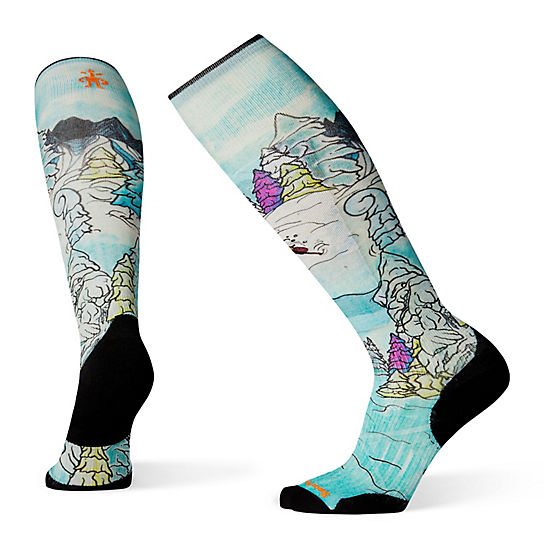 PhD® Ski Light Elite Pow Days Print Socks