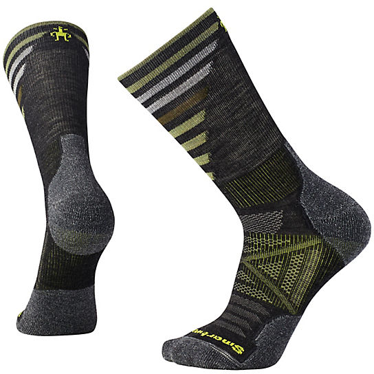 Men's PhD® Outdoor Light Pattern Crew Socks