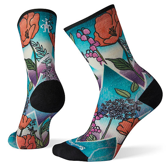 Women's PhD® Pro Endurance Print Crew Socks
