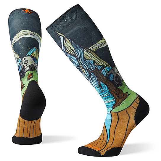 PhD® Ski Light Elite Benchetler Print Socks