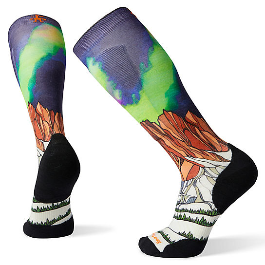 PhD® Ski Light Elite Homechetler Print Socks