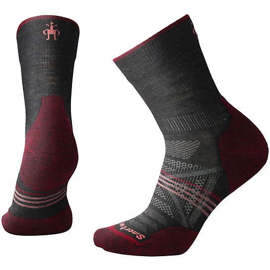 Women's PhD® Outdoor Light Hiking  Mid Crew Socks